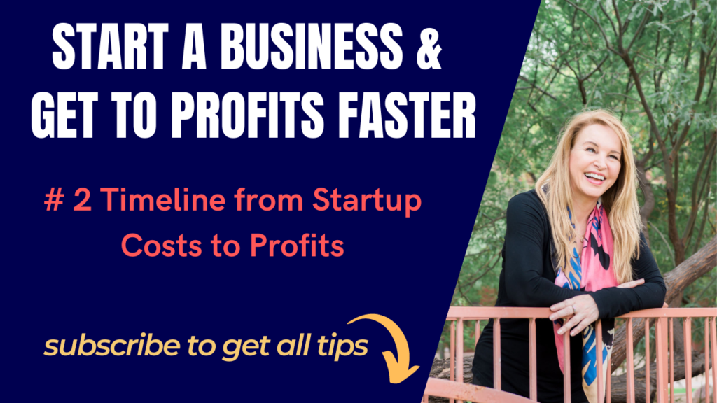 #2 Timeline from Startup Costs to Profits
